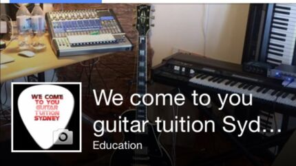 We Come To You Guitar Tuition Sydney Rosebery Inner Sydney Preview