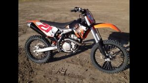 2009 KTM 450 SXF Low Hours (139 original hours)