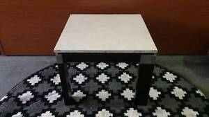 Caesarstone top side table with timber legs Smithfield Parramatta Area Preview