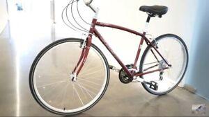2015 Jamis Citizen 1 hybrid road bike - needs minor repairs