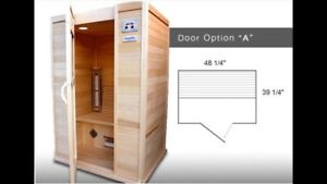 2 person infrared sauna (SaunaRay)
