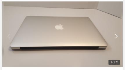Apple MacBook Air laptop has broken screen needs replacing