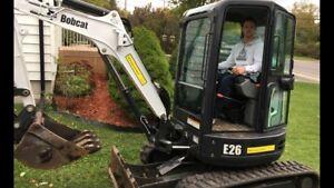 Excavation landscaping Kingston