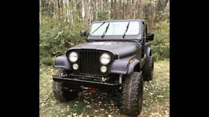 Jeep YJ 1995 (devant CJ7)
