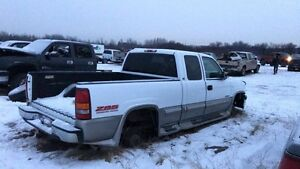Parting Out 1999 Chevy 6.0 LOW KM