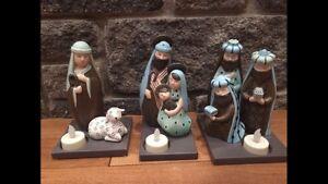 Party lite nativity set