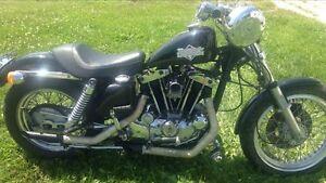 73 Harley Davidson Ironhead $4000 obo