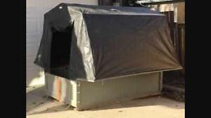 Coquette ice shack + stove