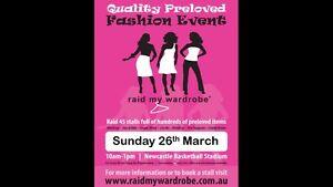 Raid my wardrobe 26th march Newcastle Newcastle Area Preview