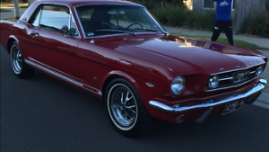 1966 Ford Mustang Automatic GT A code
