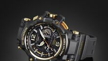 MUDMASTER MASTER OF G GOLD X BLACK Watch Bulimba Brisbane South East Preview