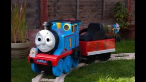 Thomas and friends Battery operated track rider train