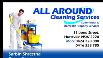 End of lease cleaning services Hurstville Hurstville Area Preview