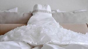Small Eddy K Designer Wedding Dress