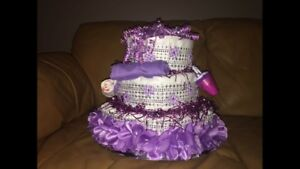 Baby Kiss diaper cakes