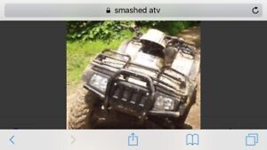 Wanted broken atv
