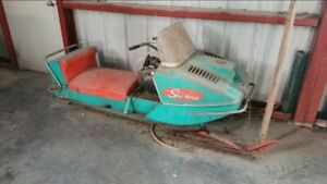 Looking for old snowmobiles