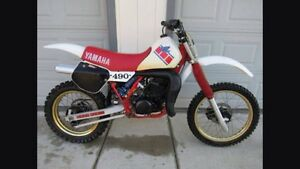 Wanted yz490 frame Denmark Denmark Area Preview