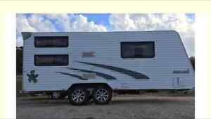 2011 Jayco Starcraft 20ft Family Bunks with Toilet and Shower Devonport Devonport Area Preview