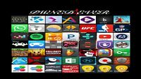 Free paid apps/movies/sports/music *No jailbreaking*
