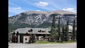 Canmore Condo 1 Bdrm + Den at Crossbow Place 250-883-1324