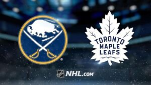TORONTO MAPLE LEAFS VS BUFFALO SABRES TICKETS MARCH 20TH