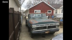 1973 Ford F 250 Stepside Long Box