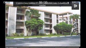 Condo à louer Floride (Lauderdale Lakes) 55 ans+