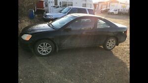 Honda Civic SI Coupe (2 door) parting out. 2002 2003 2004 2005