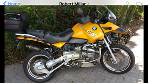 *ex husband fire sale* Bargain! Hardly used 2002 BMW R1150 GS ABS Main Beach Gold Coast City Preview