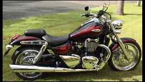 2013 Triumph Thunderbird  Red Haze Heddon Greta Cessnock Area Preview