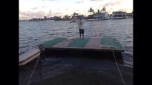 Pontoon for sale 3.1m X 4.6m $800 or  swap  for jet ski Mooloolaba Maroochydore Area Preview
