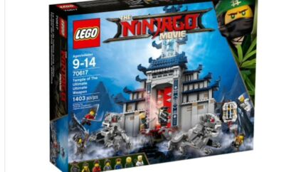 Brand New LEGO 70617 Ninjago Temple of The Ultimate Ultimate Weapon