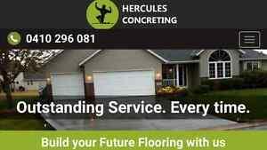 Hercules concretors Greenacre Bankstown Area Preview