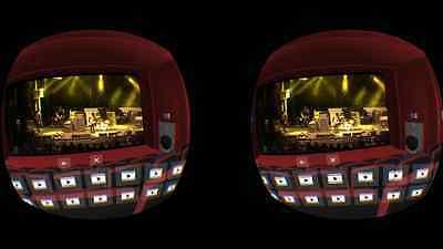 Eigene Videos im 3D-Kino anschauen (Screenshot VR One Cinema App)