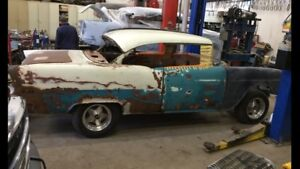 WANTED. 1955 Chevy Parts