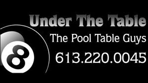 POOL TABLE MOVES, SERVICE & SALES.