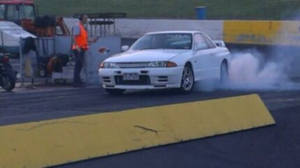 1993 Nissan GT-R Coupe drift drag show v8 bt1 vk vn vl xd xe South Morang Whittlesea Area Preview