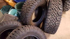Almost new Goodyear duratrac tires