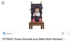 Chaise mobile Mobiseat