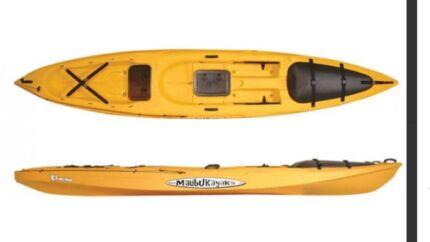 Malibu kayak X factor with motorise watersnake