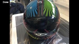 Youth medium helmet like new