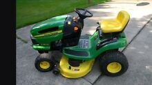 John Deere LA105 ride on lawn mower used Mount Barker Mount Barker Area Preview