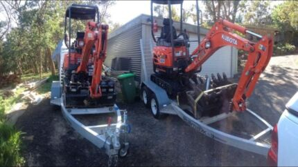 Excavator hire North Warrandyte Nillumbik Area Preview