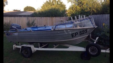 Wanted: 3.9 quintrex Bass deep V hull, tinny, boat, tinne