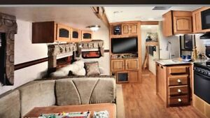 Waterfront Seasonal Trailer in Parry Sound