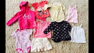 Lot of girls clothes 6mos-2T