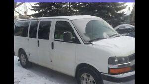 2009 Chevy Express Cargo Van