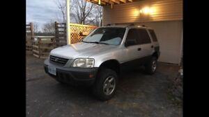 Lifted 1999 CRV AWD safetied and etested