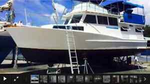 40ft trident cruiser Belmont Lake Macquarie Area Preview